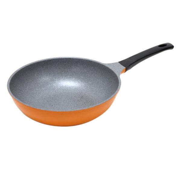 韓國 超輕量鈦金馬卡龍 28cm 深炒鍋 不沾鍋 鈦金鍋