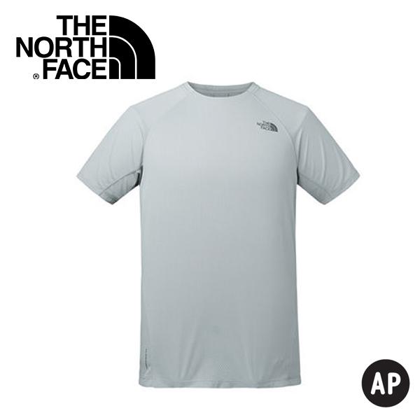 【The North Face 男 排汗短T《灰》】3F1M/排汗衣/短袖上衣