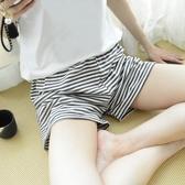 家居短褲睡褲女夏短褲居家褲格子純棉寬鬆夏季休閒可外穿單件單條 寶貝計書
