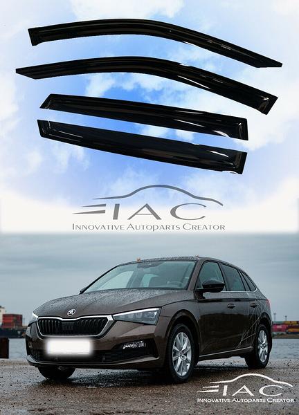 Skoda Scala 2020- 台製晴雨窗 【IAC車業】