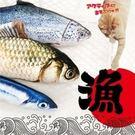 寵喵樂 《仿真秋刀魚 貓玩具》約22cm