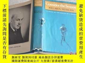 二手書博民逛書店1968年,英文原版,精裝毛邊本小說,consider罕見the