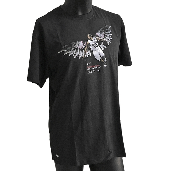Nike Kobe Asia Tour 2007 [288380-010] 男 T恤 KOBE 黑曼巴 絕版 紀念款 黑