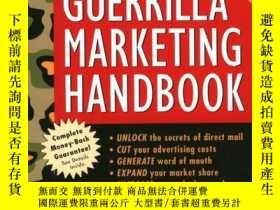 二手書博民逛書店Guerrilla罕見Marketing HandbookY364682 Seth Godin Mariner