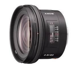 SONY 20mm F2.8 數位單眼相機鏡頭 SAL20F28