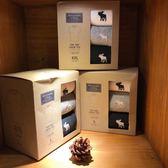 【蟹老闆】Abercrombie & Fitch 美國麋鹿 A&F 素T 三件禮盒組
