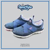 SKECHERS FLEX APPEAL 2.0 深藍黑桃 繃帶 記憶鞋墊 慢跑鞋 女 12752WNVY☆SP☆