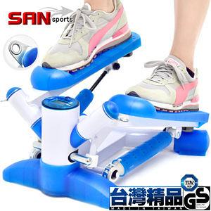 大搖擺踏步機.八字踏步機.上下左右踏法.美腿機.運動健身器材.推薦哪裡買專賣店【SAN SPORTS】