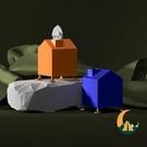 客廳茶幾紙巾盒收納盒桌面創意抽紙卷紙家用【創世紀生活館】