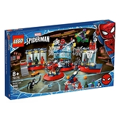 Lego 樂高 MARVEL SUPER HEROES系列 Attack on the Spider Lair_ LG76175