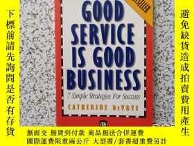 二手書博民逛書店GOOD罕見SERVICE IS GOOD BUSINESS:7