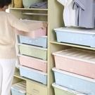 床底收納箱 特大號塑料印花床底收納收納盒衣柜儲物箱整理箱【快速出貨】