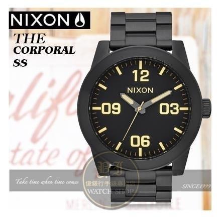 【南紡購物中心】NIXON實體店The Corporal 型男腕錶A346-1256公司貨