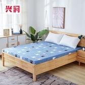 六月專屬價 全棉床罩單件 棕薄墊保護套鬆緊床笠
