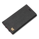 【福利品特賣↘499】iPhone8/7/6s/6 手機殼 拉拉熊正版授權皮革插卡側翻式 硬殼 4.7吋-黑色(編號111)