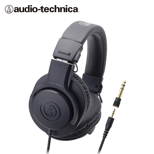 【audio-technica 鐵三角】ATH-M20x 專業型監聽耳機