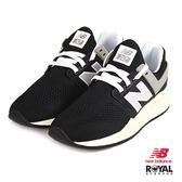 New Balance 新竹皇家 247 黑色 網布 套入式 運動鞋 男女款 NO.B0097