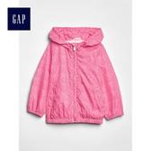 Gap女嬰幼童 妙趣印花長袖防風外套 461371-粉色碎花
