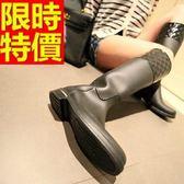 雨靴-女雨具防滑唯美防水女長筒雨鞋5色54k26【時尚巴黎】