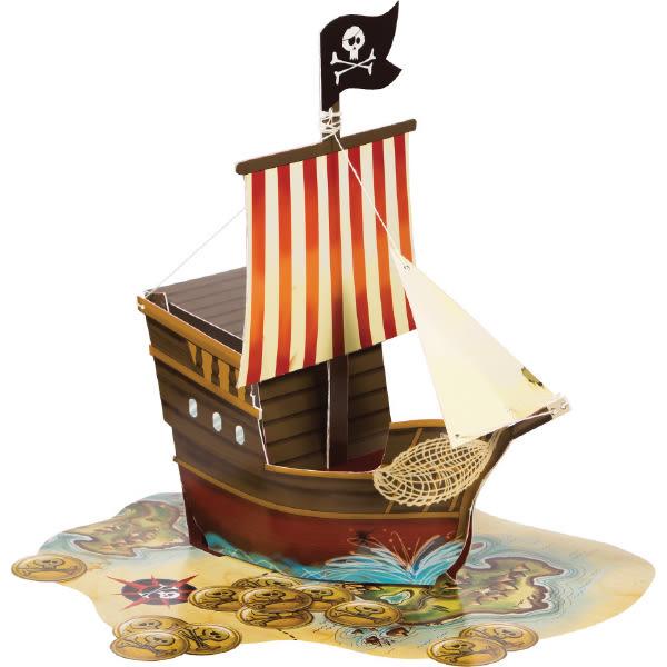 立體擺飾組-海盜船