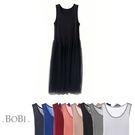 無袖洋裝 網紗背心裙蓬蓬內搭無袖洋裝連身裙【MZ16096】 BOBI  05/05
