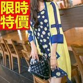 長版針織外套 -自信時髦格調純色時尚風靡女毛衣外套3色59v26【巴黎精品】