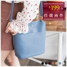 斜背包-特色口袋皮革包中包/斜背包-共7色-A17171573-天藍小舖