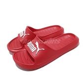 Puma 涼拖鞋 Divecat V2 紅 白 男鞋 女鞋 運動拖鞋 涼鞋 基本款 【ACS】 36940014