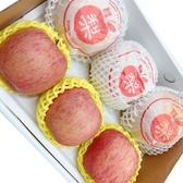 【新鮮水果】日本蜜蘋果3顆+韓國梨3顆共6顆(禮盒)