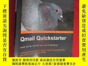 二手書博民逛書店Qmail罕見Quickstarter: Install, Se