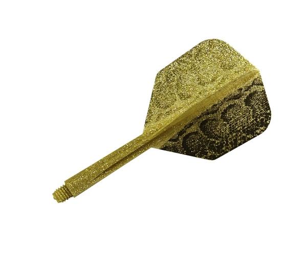【CONDOR】Snake Small Short Lame Glitter Gold 鏢翼 DARTS