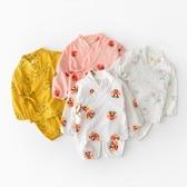 兒童睡衣 日系寶寶家居服嬰兒純棉睡衣男女兒童衣服春秋款 莎瓦迪卡