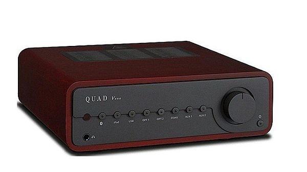 【名展音響】英國QUAD『 Vena 』數位流全機能性 前級 藍芽真空管合擴大機 iphone ipad-木框特別版