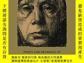 二手書博民逛書店Prints罕見And Drawings Of Kathe KollwitzY256260 Kathe Kol