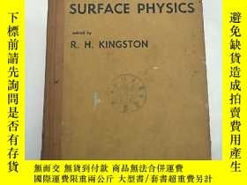 二手書博民逛書店semiconductor罕見surface physics(H