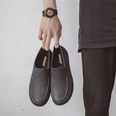 廚房水鞋男夏季低幫時尚短筒雨鞋休閒防滑工作雨靴男洗車防水膠鞋
