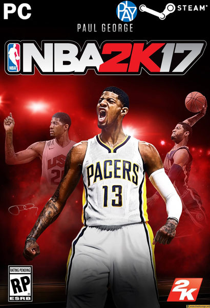 PC-NBA2K17 中文版 新品 PLAY-小無電玩