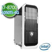 技嘉Z370平台【靈幻案卷】Intel第八代i7六核 GTX1050Ti-4G獨顯 1TB效能電腦