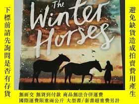 二手書博民逛書店the罕見winter horsesY218789