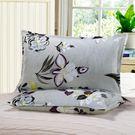 枕頭套-磨毛加大枕芯套 單人信封一對裝  成人枕套 滿千89折限時兩天熱賣