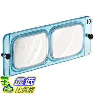 [美國直購] Donegan LP-4 Replacement Lens Plate For OptiVISOR, 2X Magnification 護目鏡