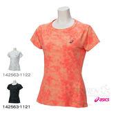 ASICS亞瑟士 女短袖T恤 (桃紅) FuzeX 系列 ,抗紫外線【 胖媛的店 】
