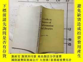 二手書博民逛書店a罕見guide to sources of informati