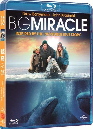 鯨奇之旅 藍光BD Big Miracle 克絲汀貝爾茱兒芭莉摩約翰卡拉辛斯基德莫麥隆尼泰德丹森 (音樂影片購)