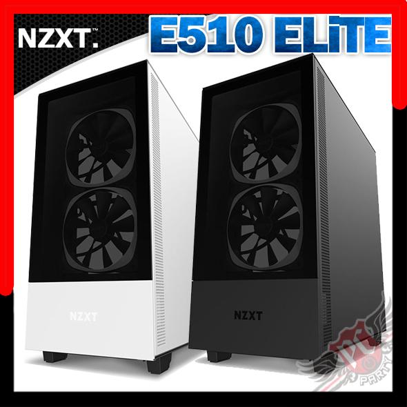 [ PC PARTY  ]    恩傑 NZXT H510 ELITE  鋼化玻璃機殼 黑 白
