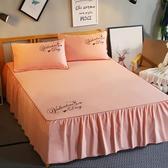 床罩床墊床單素色床裙床罩床套單件簡約止滑床笠床單1.8m1.5米2.0m夏季推薦