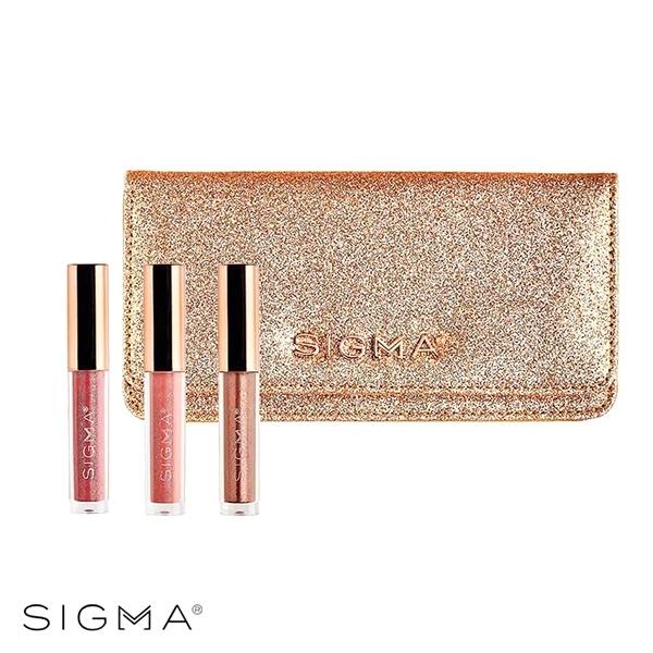 Sigma 閃耀寵愛迷你唇膏三件組+化妝包 Beloved Mini Lip Set - WBK SHOP