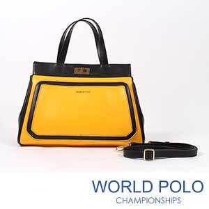 世界保羅WORLD POLO快樂蜂糖手提包
