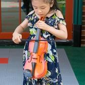 兒童小提琴仿真音樂樂器玩具兒童早教攝影道具幼兒園演出 小宅君