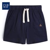 Gap男嬰 舒適鬆緊腰針織短褲547382-海軍藍色